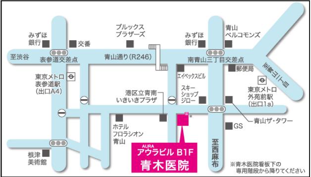 青木医院地図